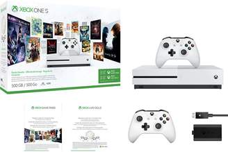 DAY Birger et Mikkelsen Microsoft Xbox One S 500GB Starter Bundle with Play & Charge Kit