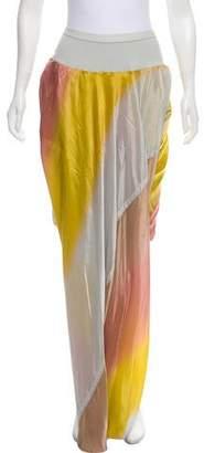 Rick Owens Printed Draped Shorts