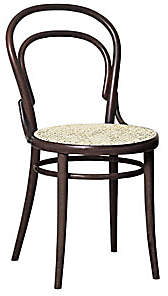 Design Within Reach Era Chair with Cane Seat, Brown