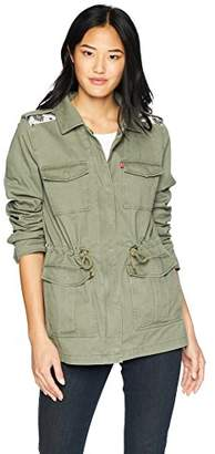 Levi's Womens Four Pocket Military Jacket