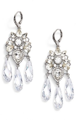 Women's Jenny Packham Chandelier Earrings $75 thestylecure.com