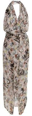 Vivienne Westwood Temperance-print halterneck dress