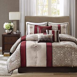 Madison Park Donovan King Size Bed Comforter Set Bed In A Bag - Taupe