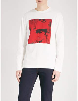 Calvin Klein Andy Warhol print cotton-jersey sweatshirt