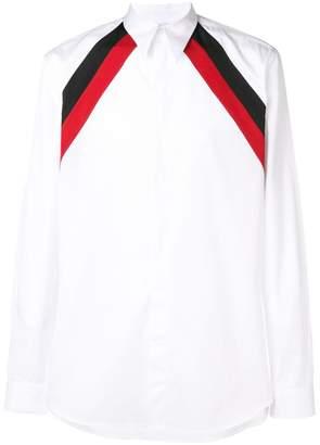 Givenchy striped shoulder shirt