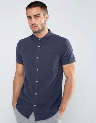 New Look Regular Fit Shirt In Navy
