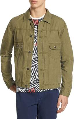 Madison Supply Men's Tissue Weight Snap Jacket