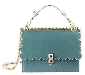 Fendi Women's Kan I Scallop Leather Shoulder Bag