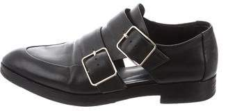 Alexander Wang Leather Semi Pointed-Toe Loafers