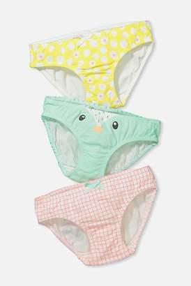 Cotton On & Co. 3-Piece Character Undies (Toddler & Little Girls)