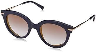 Max Mara Women's mm Needle Vi Oval Sunglasses