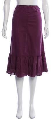 Max Mara Weekend Eyelet-Trimmed Midi Skirt