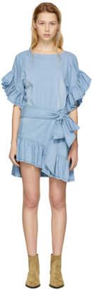 Etoile Isabel Marant Blue Lelicia Dress
