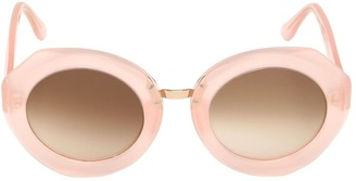 Kyme Rosa Round Acetate Sunglasses