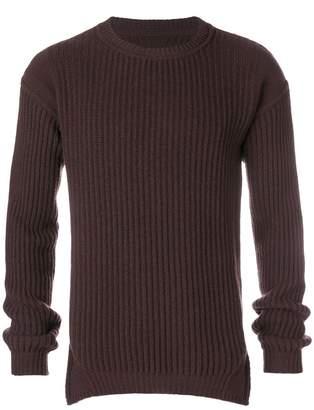 Rick Owens fisherman knitted jumper
