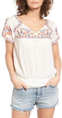 Women's O'Neill Sofia Embroidered Top $49.50 thestylecure.com
