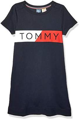 Tommy Hilfiger Women's Adaptive T Shirt Dress,LG