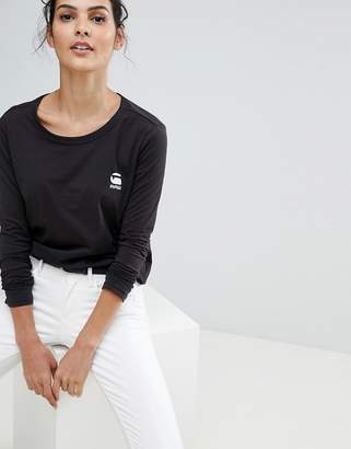 G Star G-Star Basic Long Sleeve T-Shirt