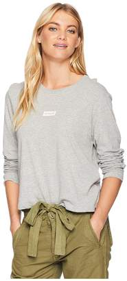 Hurley One and Only Box Perfect Crew Long Sleeve Women's T Shirt