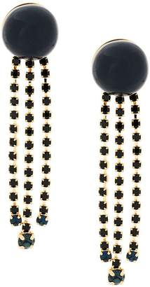 Marni long embellished earrings