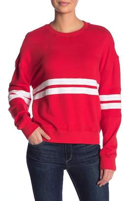 Splendid Striped Crew Neck Pullover