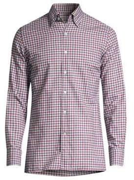 Canali Contemporary-Fit Check Sport Shirt