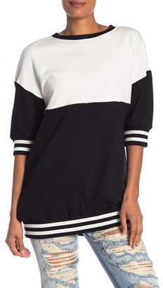 Alice + Olivia Gussie Colorblock Sweater