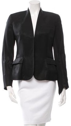 Paul Smith Wool Open Front Blazer $90 thestylecure.com