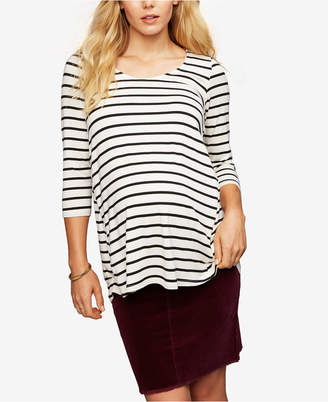 Ripe Maternity Buttoned Pencil Skirt