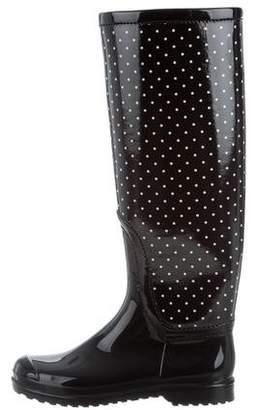 Dolce & Gabbana Polka Dot Rain Boots