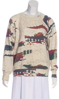 Etoile Isabel Marant Crew Neck Long Sleeve Sweatshirt