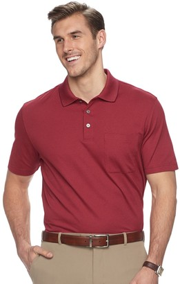 Van Heusen Big & Tall Classic-Fit Striped Stretch Polo