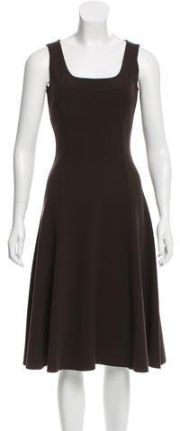 MICHAEL Michael KorsMichael Kors Virgin Wool A-Line Dress
