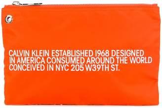 Calvin Klein brand Est. clutch