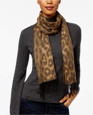 Cejon Leopard Print Scarf