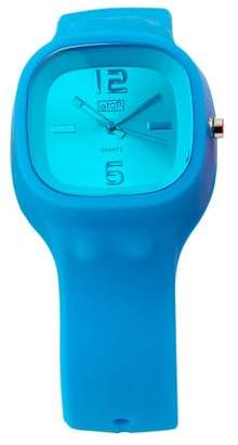 Eton Ladies Watch 2815-A with Blue Dial and Blue Rubber Strap