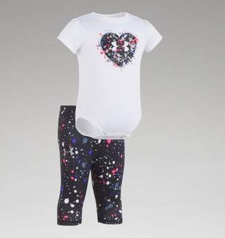 "Under Armour UA Girls Heart Splatter â"" Newborn"