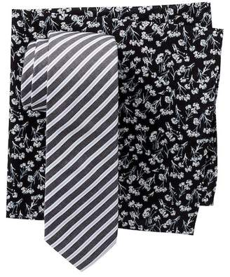 Original Penguin Fillol Stripe 2-Piece Tie Box Set