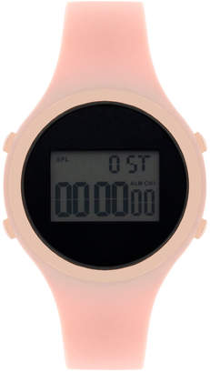 INC International Concepts I.n.c. Women's Digital Silicone Strap Watch 38mm, Created for Macy's
