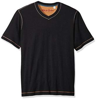 Robert Graham Men's Short Sleeve Classic Fit Jersey Tee Shirt