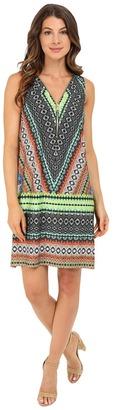 Christin Michaels Venice Zip Front Tank Dress $68 thestylecure.com