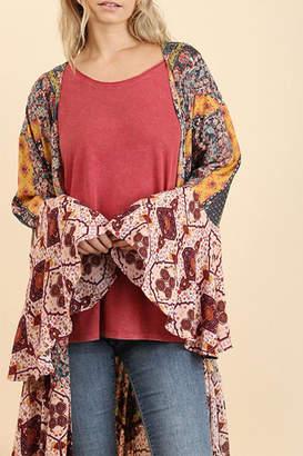 Umgee USA Long Body Fashion-Kimono