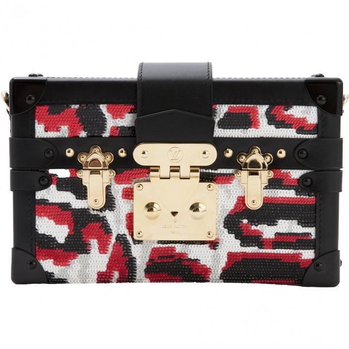 Louis VuittonPetit Malle leather mini bag