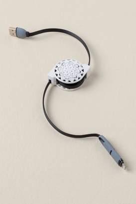 francesca's Retractable USB Charging Cord for iPhone
