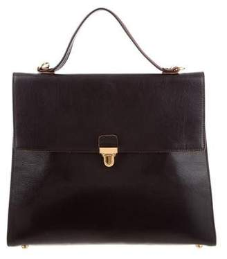 Marni Leather Top Handle Bag