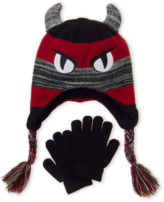 ... Capelli New York (Boys 4-7) Two-Piece Monster Hat   Gloves d9b8c05d3bf7