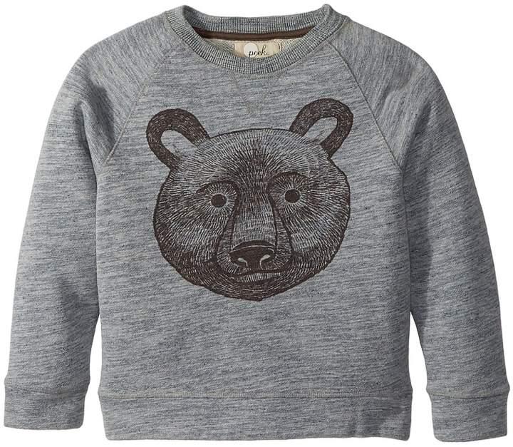 PEEK Bear Sweatshirt (Toddler/Little Kids/Big Kids)