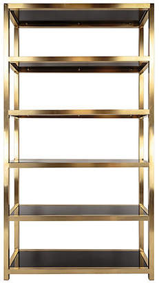 One Kings Lane Mireille Bookcase - Gold