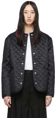 Burberry Black Vintage Dranefeld Jacket