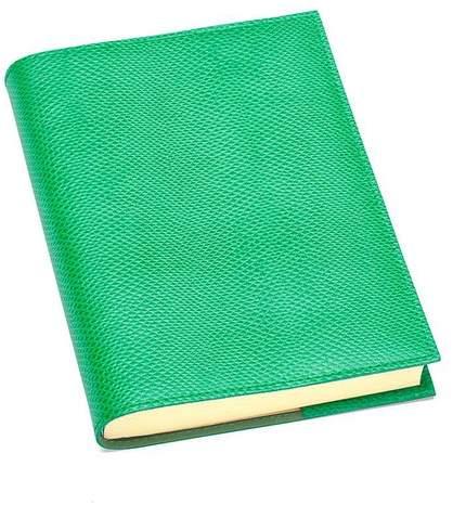 A5 Refillable Journal In Grass Green Lizard